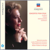 Concertos From Spain de Alicia De Larrocha