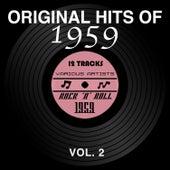 Original Hits of 1959, Vol. 2 van Various Artists