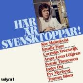 Här är svensktoppar! Volym 1 von Blandade Artister