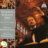 New Year's Concert 2001 - Neujahrskonzert 2001 by Nikolaus Harnoncourt