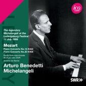 Mozart: Piano Concertos 15 & 20 de Arturo Benedetti Michelangeli