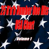 25 R'n'B Number One Hits : USA Chart, Vol. 1 by Various Artists
