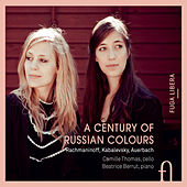Rachmaninoff, Kabalevsky & Auerbach: A Century of Russian Colours di Camille Thomas