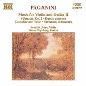 Music for Violin and Guitar II by Nicolo Paganini