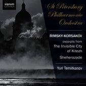 Rimsky-Korsakov: The Invisible City of Kitezh, Sheherazade by St. Petersburg Philharmonic Orchestra