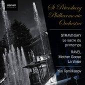 Ravel: Mother Goose, La Valse - Stravinsky: The Rite of Spring by Yuri Temirkanov
