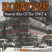 Broadway's Best Music Hits of the 1940's von Various Artists