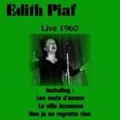 Live 1960 by Edith Piaf