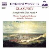 Symphonies Nos. 3 and 9 de Alexander Glazunov