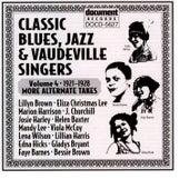 Classic Blues, Jazz And Vaudeville Singers Vol. 4 (1921-1928) de Various Artists