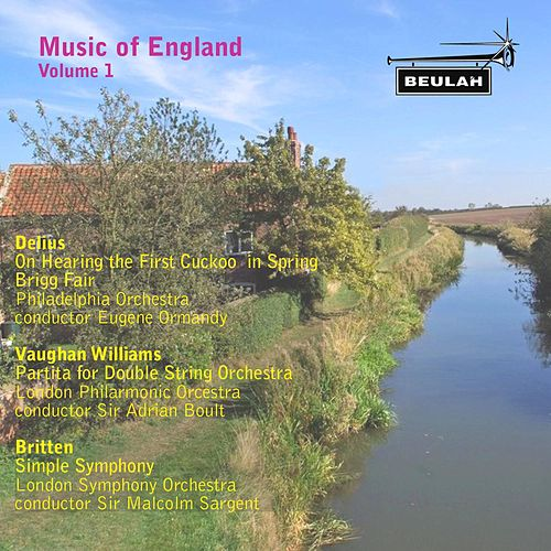 Music of England, Vol. 1 by Various Artists