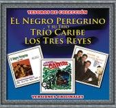 Tesoros de Colección - El Negro Peregrino y su Trío - Trío Caribe- Los Tres Reyes de Various Artists