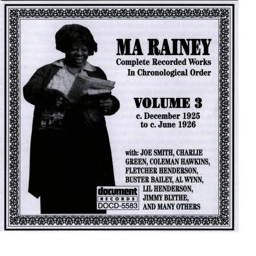 Ma Rainey Vol. 3 (1925-1926) by Ma Rainey