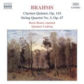 Clarinet Quintet, Op. 115 / String Quartet, Op. 67 von Johannes Brahms