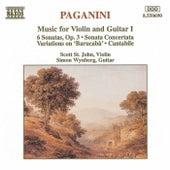 Music for Violin and Guitar Vol. 1 by Nicolo Paganini