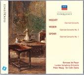 Mozart: Clarinet Concerto; Weber: Clarinet Concerto No.2; Spohr: Clarinet Concerto No.1 von Gervase de Peyer
