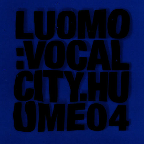 Vocalcity by Luomo