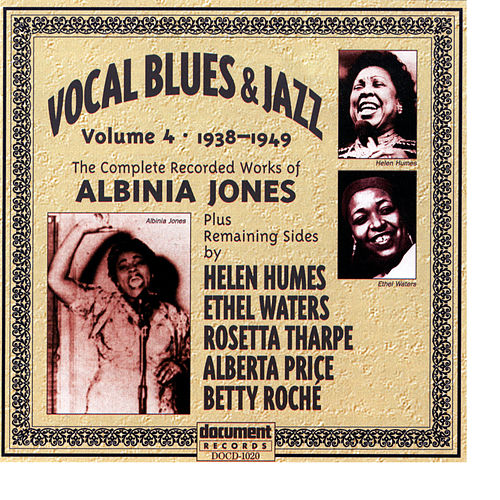 Vocal Blues & Jazz Vol. 4 (1938) by Various Artists