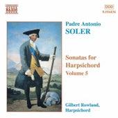 Sonatas for Harpsichord Vol. 5 by Antonio Soler