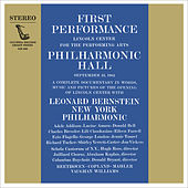 Inauguration Concert of Lincoln Center's Philharmonic Hall by Various Artists