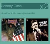 At Madison Square Garden / America von Johnny Cash