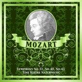Mozart: Symphony No.31, No.40, No.41 - Eine Kleine Natchmusic by Various Artists