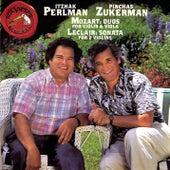 Mozart: Duos / Leclair: Sonata de Itzhak Perlman
