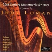 20th Century Masterworks for Harp by Judy Loman
