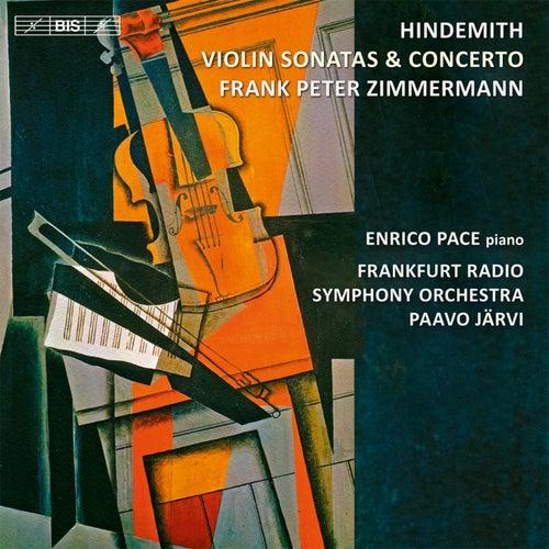 Hindemith: Violin Sonatas & Concerto by Frank Peter Zimmermann