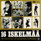 16 iskelmää 2 von Various Artists