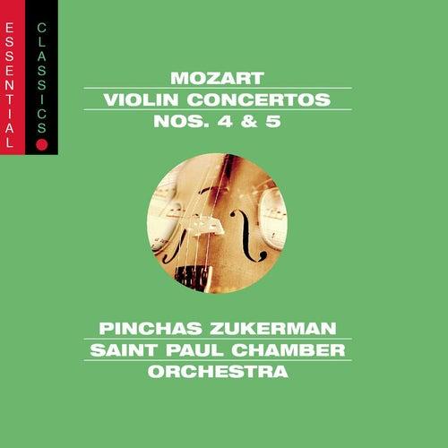Mozart: Violin Concertos Nos. 4 & 5, Adagio, K. 261 & Rondo, K. 373 by Various Artists