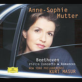 Beethoven: Violin Concerto; Romances by Anne-Sophie Mutter