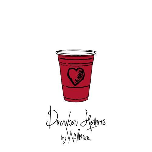 Drunken Hearts by Wallpaper.