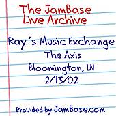 02-13-02 - The Axis - Bloomington, IN by Ray's Music Exchange