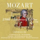 Mozart : Operas Vol.3 [La clemenza di Tito, Die Zauberflöte, Idomeneo, Die Entführung aus dem Serail] by Various Artists