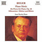 Piano Music Six Pieces For Piano, Op. 24 by Max Reger