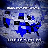 GODN Ent Presents The 16 States (Collectable) de Various Artists