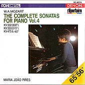 Mozart: The Complete Sonatas for Piano, Vol. 4 by Maria Joao Pires