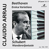 Arrau plays Beethoven and Chubert (LP-Pure Vol. 6) von Claudio Arrau