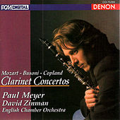 Clarinet Concertos by David Zinman
