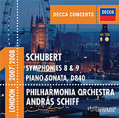 Schubert: Symphonies 8 & 9 etc di Philharmonia Orchestra