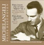 Michelangeli Plays Beethoven de Arturo Benedetti Michelangeli