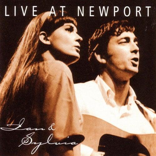 Live At Newport by Ian and Sylvia