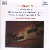 Preludes Vol. 1 by Alexander Scriabin