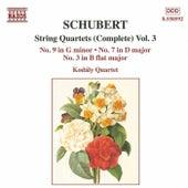 String Quartets (Complete) Vol. 3 by Franz Schubert