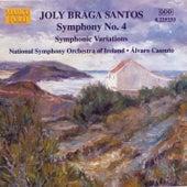 BRAGA SANTOS: Symphony No. 4 / Symphonic Variations by Ireland National Symphony Orchestra