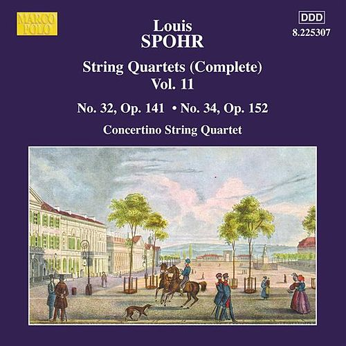 SPOHR: String Quartets Nos. 32 and 34 by Moscow Philharmonic Concertino Quartet