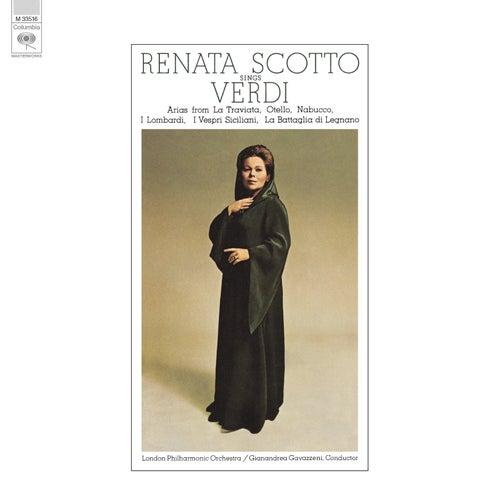 Renata Scotto sings Verdi by Renata Scotto