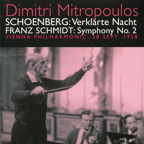 Schoenberg: Verklarte Nach - Schmidt: Symphony No. 2 (1958) by Vienna Philharmonic Orchestra