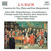 BACH, J.S.: Concertos for Two, Three and Four  Harpsichords by Cologne Chamber Orchestra
